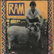 Click here for more info about 'Paul McCartney and Wings - Ram - 1st - Sample - EX'