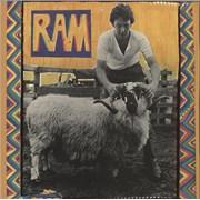 Paul McCartney and Wings Ram - 1st - WOL UK vinyl LP