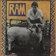 Paul McCartney and Wings Ram - 80s glossy Barcoded sleeve UK vinyl LP