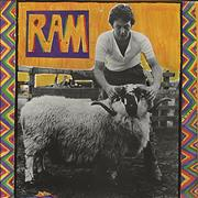 Paul McCartney and Wings Ram - 80s glossy sleeve UK vinyl LP
