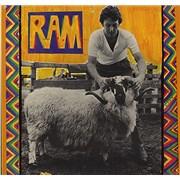 Paul McCartney and Wings Ram - Laminated UK vinyl LP