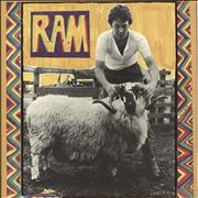 Click here for more info about 'Paul McCartney and Wings - Ram - Mfd by Apple Records Label Credit'