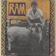 Paul McCartney and Wings Ram - Textured Sleeve Singapore vinyl LP