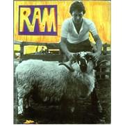 Paul McCartney and Wings Ram UK book