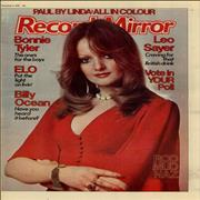 Click here for more info about 'Paul McCartney and Wings - Record Mirror - December 1976'