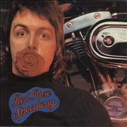 Paul McCartney and Wings Red Rose Speedway Greece vinyl LP