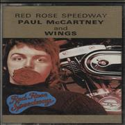 Paul McCartney and Wings Red Rose Speedway UK cassette album