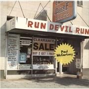 Paul McCartney and Wings Run Devil Run - EX UK vinyl LP