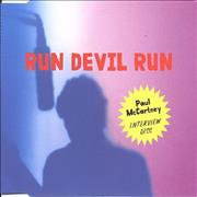 Click here for more info about 'Paul McCartney and Wings - Run Devil Run - Interview Disc'