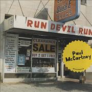 Click here for more info about 'Paul McCartney and Wings - Run Devil Run - Musicland'