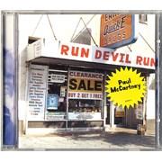 Paul McCartney and Wings Run Devil Run UK CD album