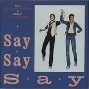 Click here for more info about 'Paul McCartney and Wings - Say Say Say - Glossy Picture sleeve'