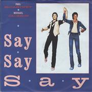 Click here for more info about 'Paul McCartney and Wings - Say Say Say - Matt Picture sleeve'