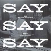 "Paul McCartney and Wings Say Say Say UK 12"" vinyl"