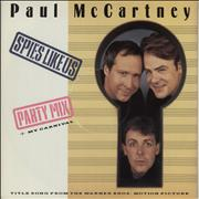 Click here for more info about 'Paul McCartney and Wings - Spies Like Us - Factory Sample'