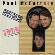 """Paul McCartney and Wings Spies Like Us UK 12"""" vinyl"""