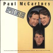 "Paul McCartney and Wings Spies Like Us UK 7"" vinyl"