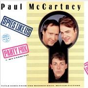"""Paul McCartney and Wings Spies Like Us Germany 12"""" vinyl"""