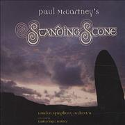 Paul McCartney and Wings Standing Stone UK CD album