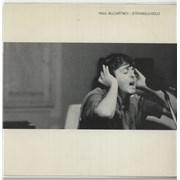 "Paul McCartney and Wings Stranglehold USA 7"" vinyl"