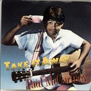Click here for more info about 'Paul McCartney and Wings - Take It Away - Injection + P/S'