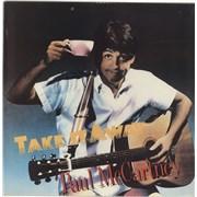 "Paul McCartney and Wings Take It Away - shrink USA 12"" vinyl"