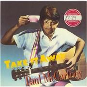 "Paul McCartney and Wings Take It Away UK 12"" vinyl"