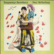 Click here for more info about 'Paul McCartney and Wings - Temporary Secretary + p/s'