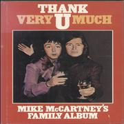 Paul McCartney and Wings Thank U Very Much - Mike McCartney's Family Album UK book