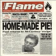 Click here for more info about 'Paul McCartney and Wings - The Flame - Mock Tabloid Newspaper'