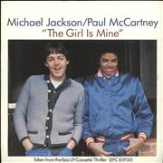 Click here for more info about 'Paul McCartney and Wings - The Girl Is Mine'