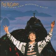 """Paul McCartney and Wings The Long And Winding Road Germany 7"""" vinyl"""
