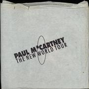 Click here for more info about 'Paul McCartney and Wings - The New World Tour + Bag & Ticket'