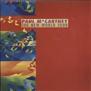 Click here for more info about 'Paul McCartney and Wings - The New World Tour + Ticket Stub'