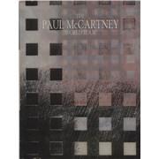 Paul McCartney and Wings The Paul McCartney World Tour + B'ham Stub UK tour programme