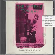 Click here for more info about 'Paul McCartney and Wings - The World Tonight - Stickered Case'