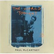 Paul McCartney and Wings The World Tonight UK 2-CD single set