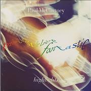 Paul McCartney and Wings Tripping The Live Fantastic Highlights! - Black Vinyl Czech Republic vinyl LP