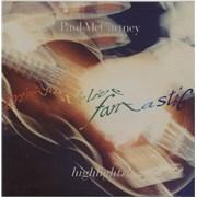 Paul McCartney and Wings Tripping The Live Fantastic Highlights! - Green Vinyl Czech Republic vinyl LP