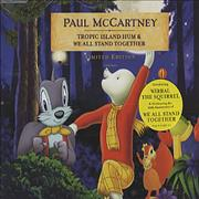 Paul McCartney and Wings Tropic Island Hum / We All Stand Together UK CD single
