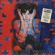 Paul McCartney and Wings Tug Of War - Sealed USA vinyl LP