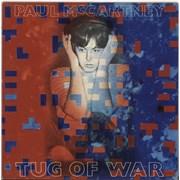 Paul McCartney and Wings Tug Of War Greece vinyl LP