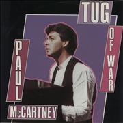 "Paul McCartney and Wings Tug Of War Netherlands 7"" vinyl"