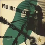Paul McCartney and Wings Unplugged - The Official Bootleg UK vinyl LP