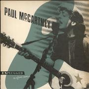 Paul McCartney and Wings Unplugged - The Official Bootleg - EX UK vinyl LP