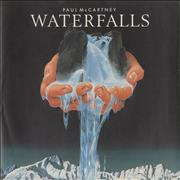 Click here for more info about 'Paul McCartney and Wings - Waterfalls - Picture sleeve'