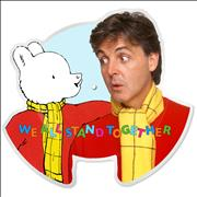 Paul McCartney and Wings We All Stand Together UK shaped picture disc