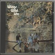 Paul McCartney and Wings Wild Life UK CD album