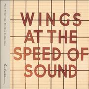 Paul McCartney and Wings Wings At The Speed Of Sound - Special Edition UK 2-CD album set
