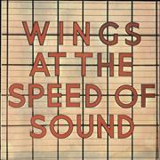 Paul McCartney and Wings Wings At The Speed Of Sound Greece vinyl LP